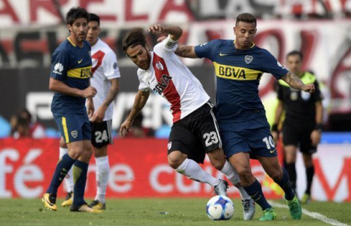 El historial entre Boca Juniors y River Plate. (AFP)