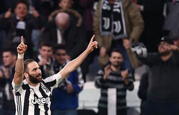 Gonzalo Higuaín lidera la victoria de la Juventus ante el Atalana