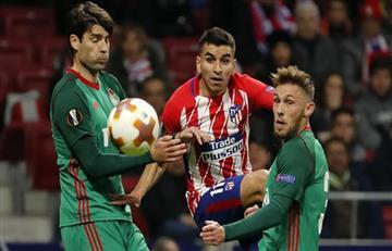 EN VIVO ONLINE: Atlético de Madrid le gana 5-1 al Lokomotiv de Moscú