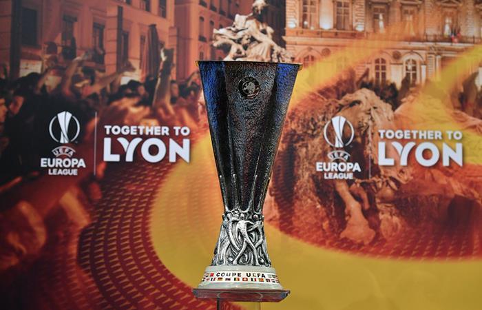 Mirá las llaves de cuartos de final de la Europa League (Foto. Twitter)