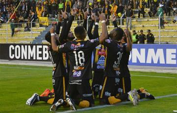 The Strongest debuta en Grupo 3 de Libertadores con triunfo sobre Peñarol de Uruguay
