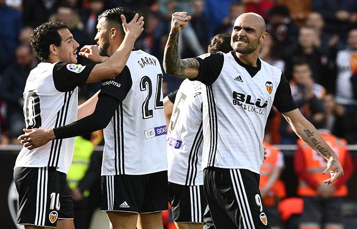 El Valencia se queda con el tercer puesto de LaLiga. (AFP). Foto: AFP