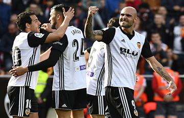 El Valencia gana y desplaza al Real Madrid del tercer puesto de LaLiga