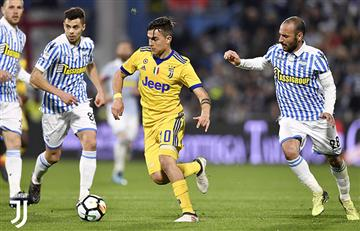 Juventus con Dybala e Higuaín no pasaron del empate ante el Spal