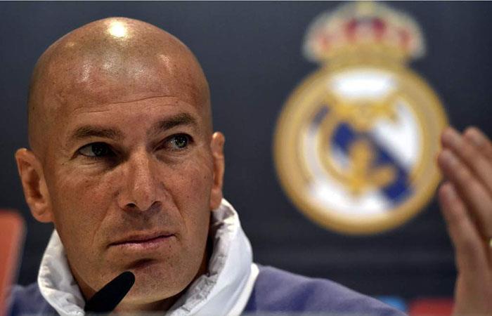 Zinedine Zidane. (AFP)