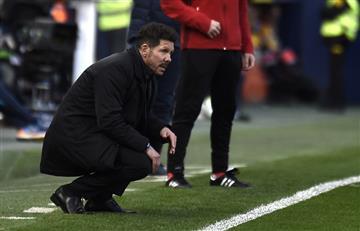 Atlético de Madrid de Diego Simeone pierde y se aleja del sueño del título en LaLiga