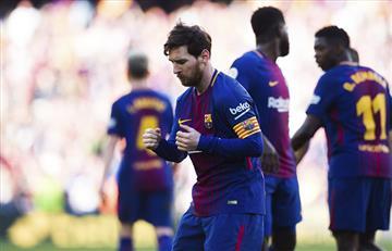 El baile de Lionel Messi con sabor a triunfo del Barcelona