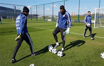 Selección Argentina: Sergio Romero se suma a los entrenamientos