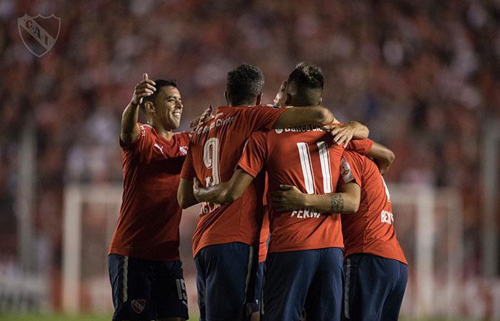 Tigre vs Independiente. Foto: Twitter