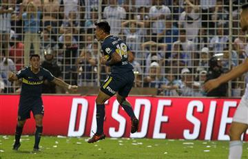Walter Bou: su gol luego de 462 días sin marcar