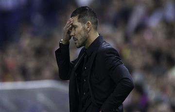 Atlético de Madrid de Diego Simeone entrenó con solo seis jugadores