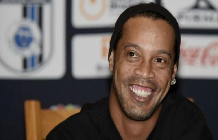 Ronaldinho. (AFP). Foto: AFP