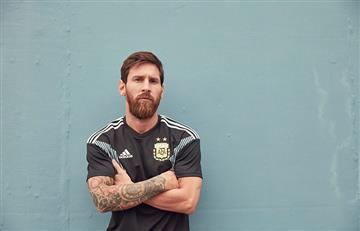 Selección Argentina lucirá camiseta negra ante Italia
