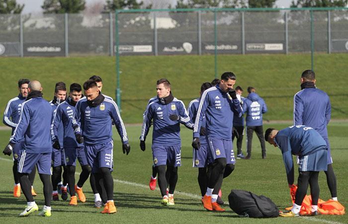 Mirá como formará la Selección Argentina ante Italia. Foto: Twitter