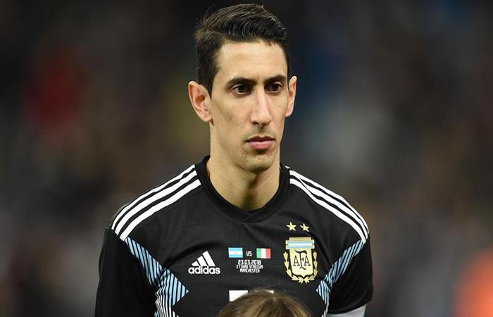 Ángel Di María. (AFP)