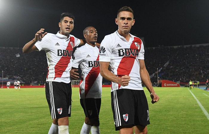 En tierra chilenas, River goleó 3 a 0 a la U de Chile en un partido amistoso (Foto: Twitter River Plate)