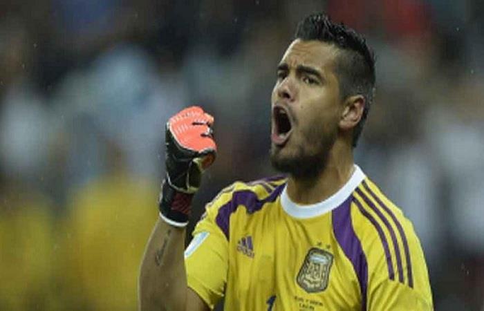 Sergio Romero. (AFP). Foto: AFP