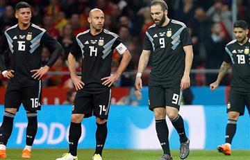 Argentina sufrió derrota histórica ante España