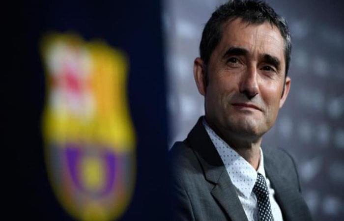 Ernesto Valverde. Foto: AFP
