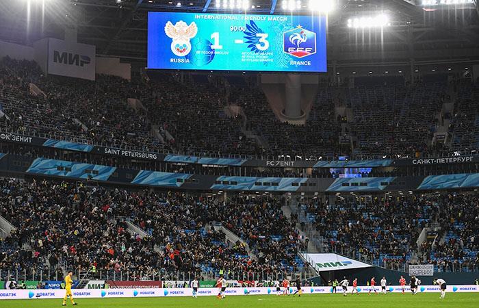 Supuestos 'sonidos de mono' en contra de jugadores de color de Francia. (AFP)