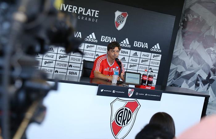 Marcelo Gallardo. Foto: Twitter
