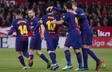 Barcelona de Lionel Messi logra un sufrido empate ante el Sevilla
