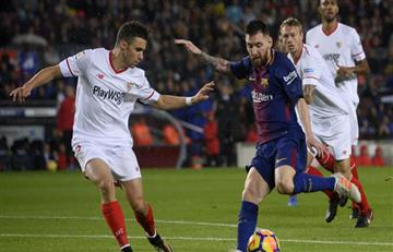 Lionel Messi empató el partido para el Barcelona ante el Sevilla EN VIVO ONLINE por LaLiga