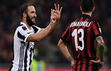 Juventus le gana al Milan por 3-1 EN VIVO ONLINE