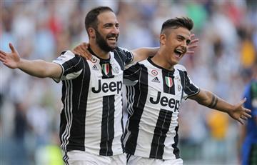 Champions League: Gonzalo Higuaín y Paulo Dybala se alistan para enfrentar al Real Madrid
