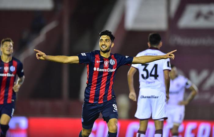 San Lorenzo ganó 2-0 ante Lanús en su visita e la Fortaleza (Foto: Twitter)