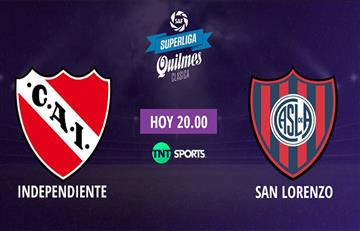 Independiente vs San Lorenzo: EN VIVO ONLINE por la Superliga Argentina