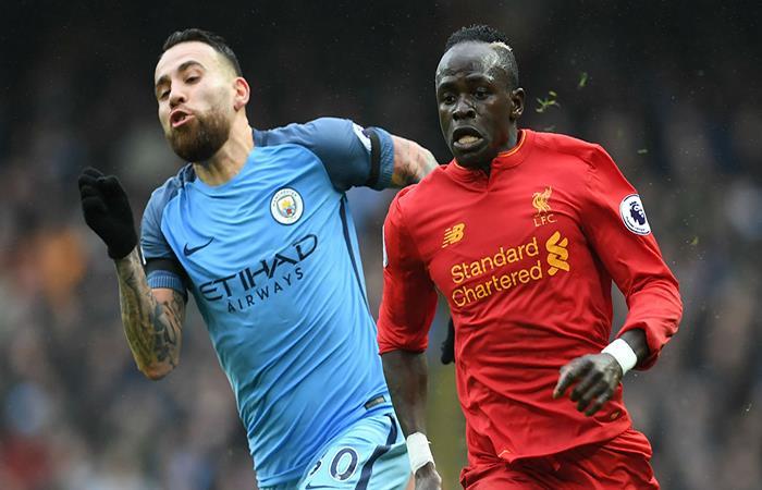 Nicolás Otamendi será titular en el Manchester City ante el Liverpool. (AFP). Foto: AFP