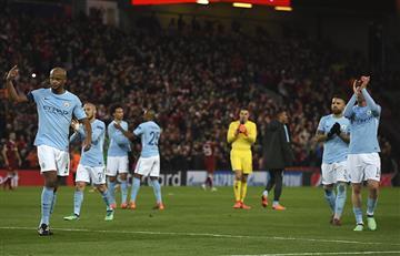 Manchester City de Nicolás Otamendi fue goleado por el Liverpool