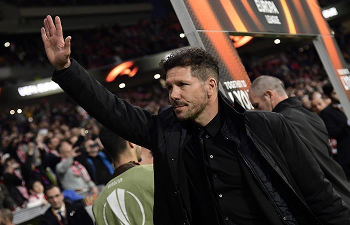 Europa League: Atlético de Madrid de Diego Simeone derrotó ...