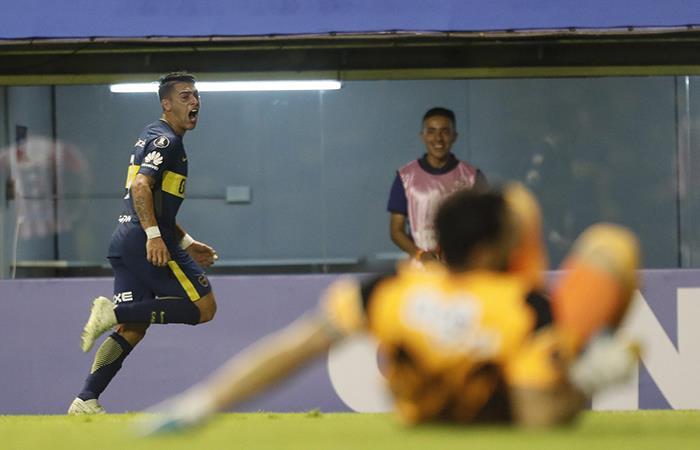 Cristian Pavón tuvo una semana de maravillas frente a Talleres  y Junior. Foto: Twitter