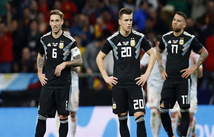 El día del 6-1 de España ante Argentina. (AFP)