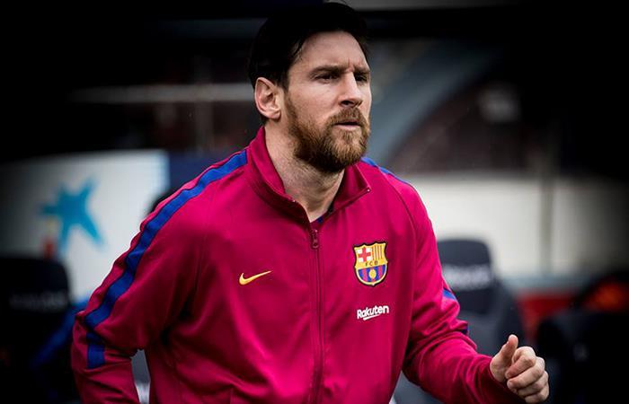 Según lo anunciado por Valverde, Messi será de la partida ante el Leganés. Foto: Facebook