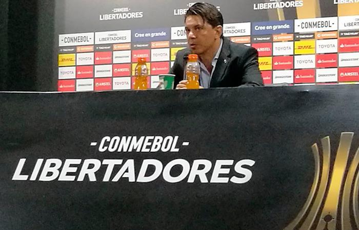 Marcelo Gallardo pidió tranquilidad sobre el empate ante Sante Fe (Foto: Facebook)