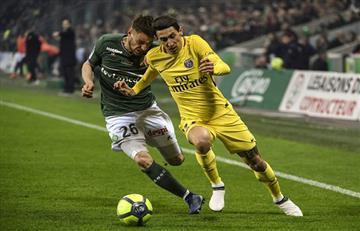 PSG igualó 1-1 con Saint-Etienne y tendrá que esperar para salir campeón
