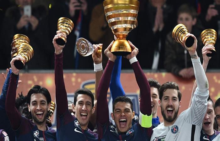 El PSG quiere conseguir un nuevo título tras la Copa de Francia. (AFP)