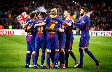 Barcelona con triplete de Lionel Messi derrotó al Leganés por La Liga