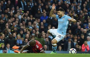 Manchester United volteó el partido al Manchester City que no pudo gritar campeón