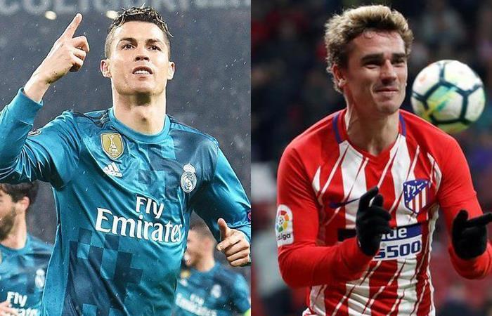 Cristiano Ronaldo y Antoine Griezmann jugarán un duelo aparte. (FOTO: AFP)