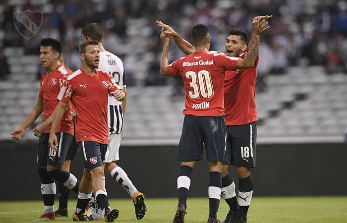 Independiente pisó fuerte en Córdoba al ganarle 2-0 a Talleres. Foto: Twitter