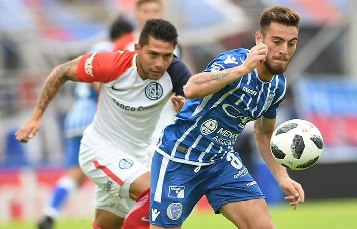 Godoy Cruz goleó 5-0 a San Lorenzo de manera histórica. (FOTO: Facebook Superliga)