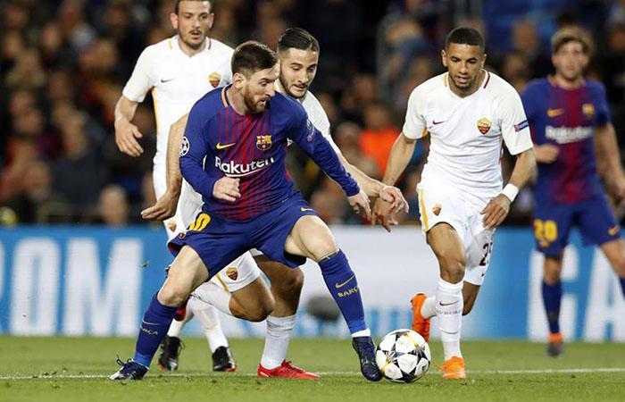 Barcelona visita a la Roma por el partido de vuelta de cuartos de final de UCL (Foto: Facebook)
