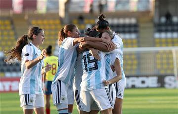 Argentina se impuso con categoría ante Ecuador que terminó goleado