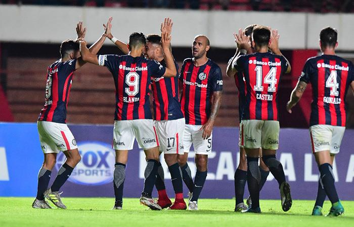 San Lorenzo recupera la confianza al vencer por la mínima a Atlético Mineiro
