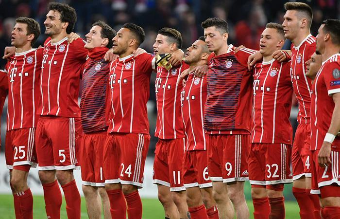 Bayern logra pasar a una nueva semifinal tras empatar 2-1 en el global al Sevilla (Foto: Twitter)