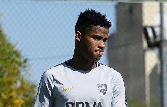 Wimar Barrios renovará con Boca y aumentara su cláusula de rescisión. Foto: Twitter